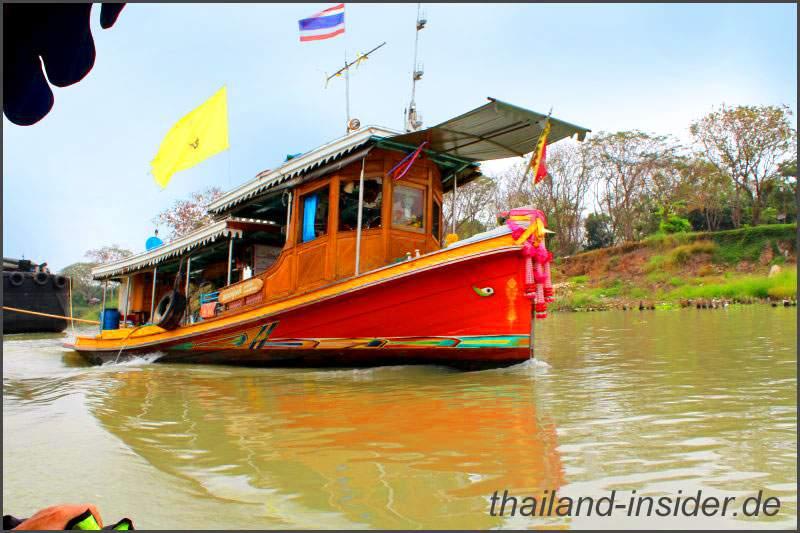 Impressionen einer Bootsfahrt