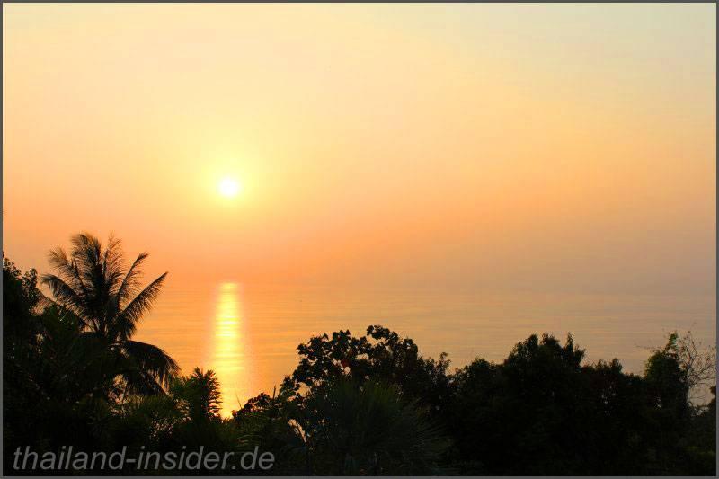 Aussicht genießen - vom Big Buddha Phuket